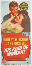 His Kind of Woman - Australian Movie Poster (xs thumbnail)