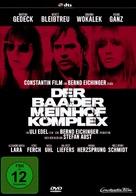 Der Baader Meinhof Komplex - German DVD cover (xs thumbnail)