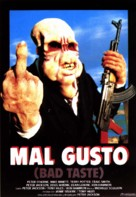 Bad Taste - Spanish Movie Poster (xs thumbnail)