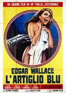 Die blaue Hand - Italian Movie Poster (xs thumbnail)