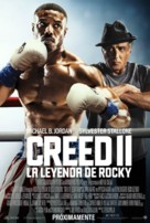 Creed II - Spanish Movie Poster (xs thumbnail)