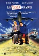 Planes, Trains & Automobiles - German Movie Poster (xs thumbnail)