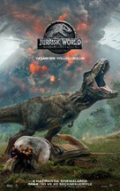 Jurassic World Fallen Kingdom - Turkish Movie Poster (xs thumbnail)