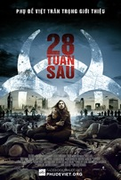 28 Weeks Later - Vietnamese Movie Poster (xs thumbnail)