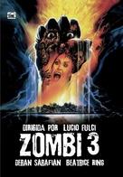Zombi 3 - Spanish DVD cover (xs thumbnail)