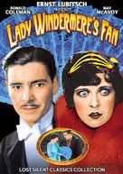 Lady Windermere's Fan - DVD cover (xs thumbnail)