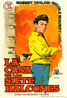 The House of the Seven Hawks - Spanish Movie Poster (xs thumbnail)