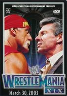 WWE WrestleMania XIX - DVD movie cover (xs thumbnail)