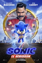 Sonic the Hedgehog - Canadian Movie Poster (xs thumbnail)