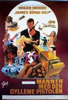 The Man With The Golden Gun - Swedish Movie Poster (xs thumbnail)