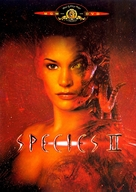 Species II - DVD movie cover (xs thumbnail)