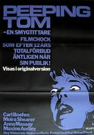 Peeping Tom - Swedish Movie Poster (xs thumbnail)