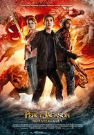 Percy Jackson: Sea of Monsters - Norwegian Movie Poster (xs thumbnail)