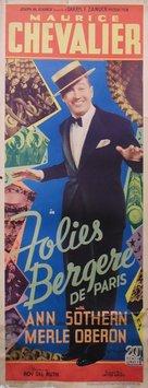 Folies Bergère de Paris - Movie Poster (xs thumbnail)