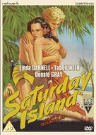 Saturday Island - British DVD cover (xs thumbnail)