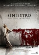 Sinister Norwegian movie poster