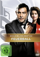 Thunderball - German DVD cover (xs thumbnail)