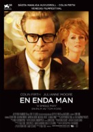 A Single Man - Swedish Movie Poster (xs thumbnail)
