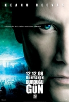 The Day the Earth Stood Still - Turkish Movie Poster (xs thumbnail)