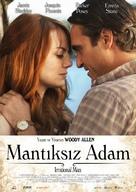 Irrational Man - Turkish Movie Poster (xs thumbnail)