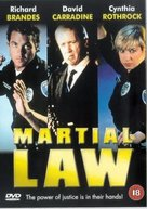 Martial Law - British DVD cover (xs thumbnail)