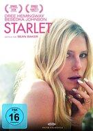 Starlet - German DVD cover (xs thumbnail)