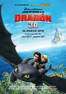 How to Train Your Dragon - Spanish Movie Poster (xs thumbnail)