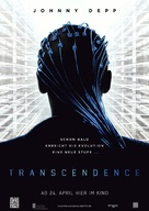 Transcendence - German Movie Poster (xs thumbnail)