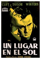 A Place in the Sun - Spanish Movie Poster (xs thumbnail)