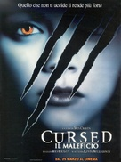 Cursed - Italian Movie Poster (xs thumbnail)