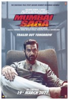Mumbai Saga - Indian Movie Poster (xs thumbnail)