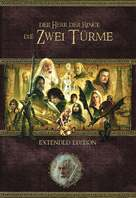 The Lord of the Rings: The Two Towers - German Movie Cover (xs thumbnail)