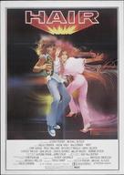 Hair - Italian Theatrical movie poster (xs thumbnail)