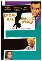 The Man with the Golden Arm - Italian Movie Poster (xs thumbnail)