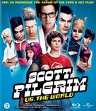 Scott Pilgrim vs. the World - Dutch Blu-Ray cover (xs thumbnail)