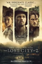The Lost City of Z - British Movie Poster (xs thumbnail)