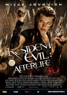 Resident Evil: Afterlife - Czech Movie Poster (xs thumbnail)