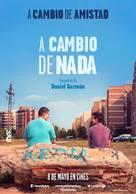 A cambio de nada - Spanish Movie Poster (xs thumbnail)