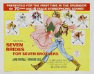 Seven Brides for Seven Brothers - Movie Poster (xs thumbnail)