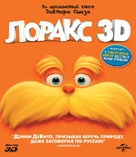 The Lorax - Russian Blu-Ray cover (xs thumbnail)