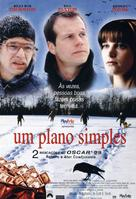 A Simple Plan - Brazilian Movie Poster (xs thumbnail)