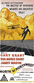 North by Northwest - Australian Movie Poster (xs thumbnail)