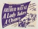 A Lady Takes a Chance - British Movie Poster (xs thumbnail)