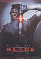 Blade - German Movie Poster (xs thumbnail)
