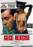 Il portiere di notte - Turkish Movie Poster (xs thumbnail)