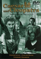 Caesar and Cleopatra - German Movie Cover (xs thumbnail)