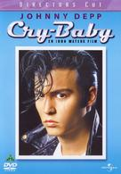 Cry-Baby - Danish DVD movie cover (xs thumbnail)