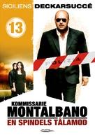 """Il commissario Montalbano"" - Swedish DVD movie cover (xs thumbnail)"