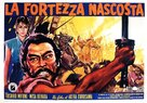 Kakushi toride no san akunin - Italian Movie Poster (xs thumbnail)