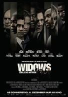 Widows - German Movie Poster (xs thumbnail)